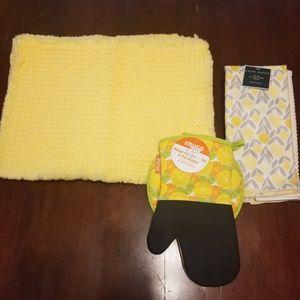 Yellow kitchen bundle